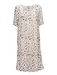Dress short sleeve - PRINT NUDE