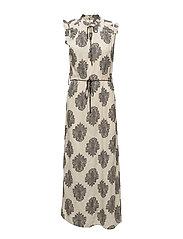 Dress sleeveless - PRINT OFF WHITE