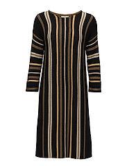 Dress long sleeve - ART BLACK