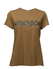 T-shirt - DULL GOLD