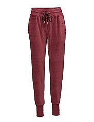 Trousers - OXBLOOD RED