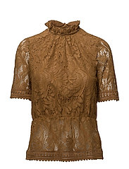 Blouse - DULL GOLD