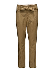Trousers - DULL GOLD