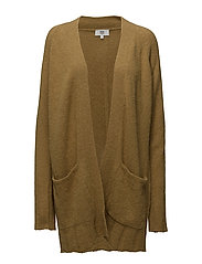 Cardigan - DULL GOLD
