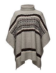 Poncho - ART GREY