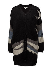 Cardigan - ART BLACK