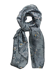 Scarves - PRINT LIGHT BLUE