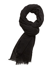 Scarves - BLACK MELANGE