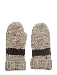 SILENT WINTER KNIT ACC - LIGHT BROWN MELANGE