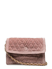 CHECKY QUILTED CROSS BAG - WOODROSE