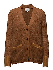 Cardigan - SUDAN BROWN