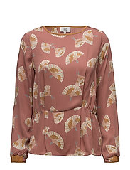 Blouse - PRINT NUDE