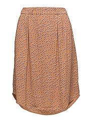 Skirt - PRINT ORANGE