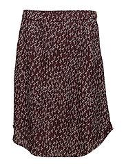 Skirt - PRINT RED