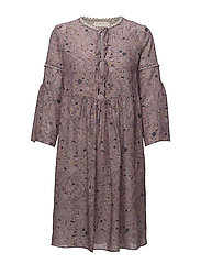 Dress long sleeve - PRINT ROSA