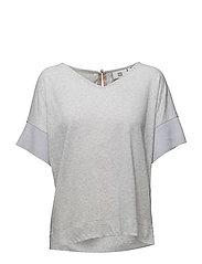 T-shirt - LIGHT GREY MELANGE