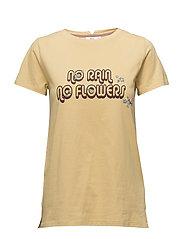 T-shirt - PRINT YELLOW