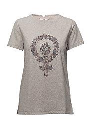 T-shirt - PRINT GREY
