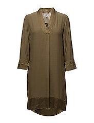 Dress long sleeve - GOTHIC OLIVE
