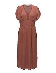 Dress short sleeve - CEDAR WOOD