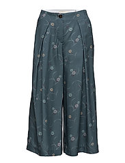 Trousers - PRINT BLUE