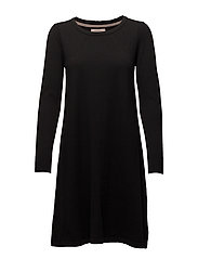Dress long sleeve - BLACK