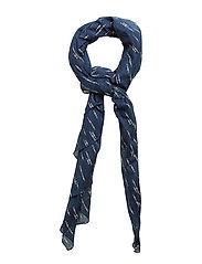 Scarves - PRINT BLUE