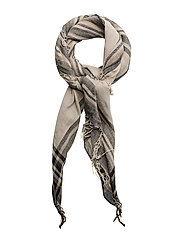 Scarves - FEATHER GRAY