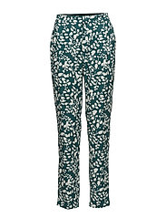 Trousers - PRINT GREEN