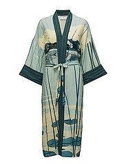 Kimono - PRINT GREEN