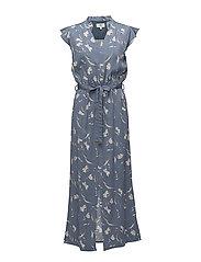 Dress sleeveless - PRINT BLUE