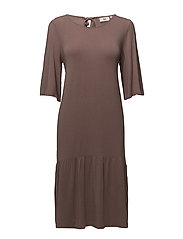 Dress short sleeve - BURLWOOD