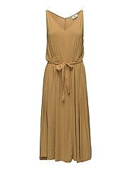 Dress sleeveless - AMBER GOLD