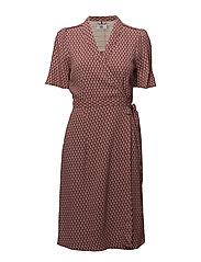 Dress short sleeve - PRINT ROSA