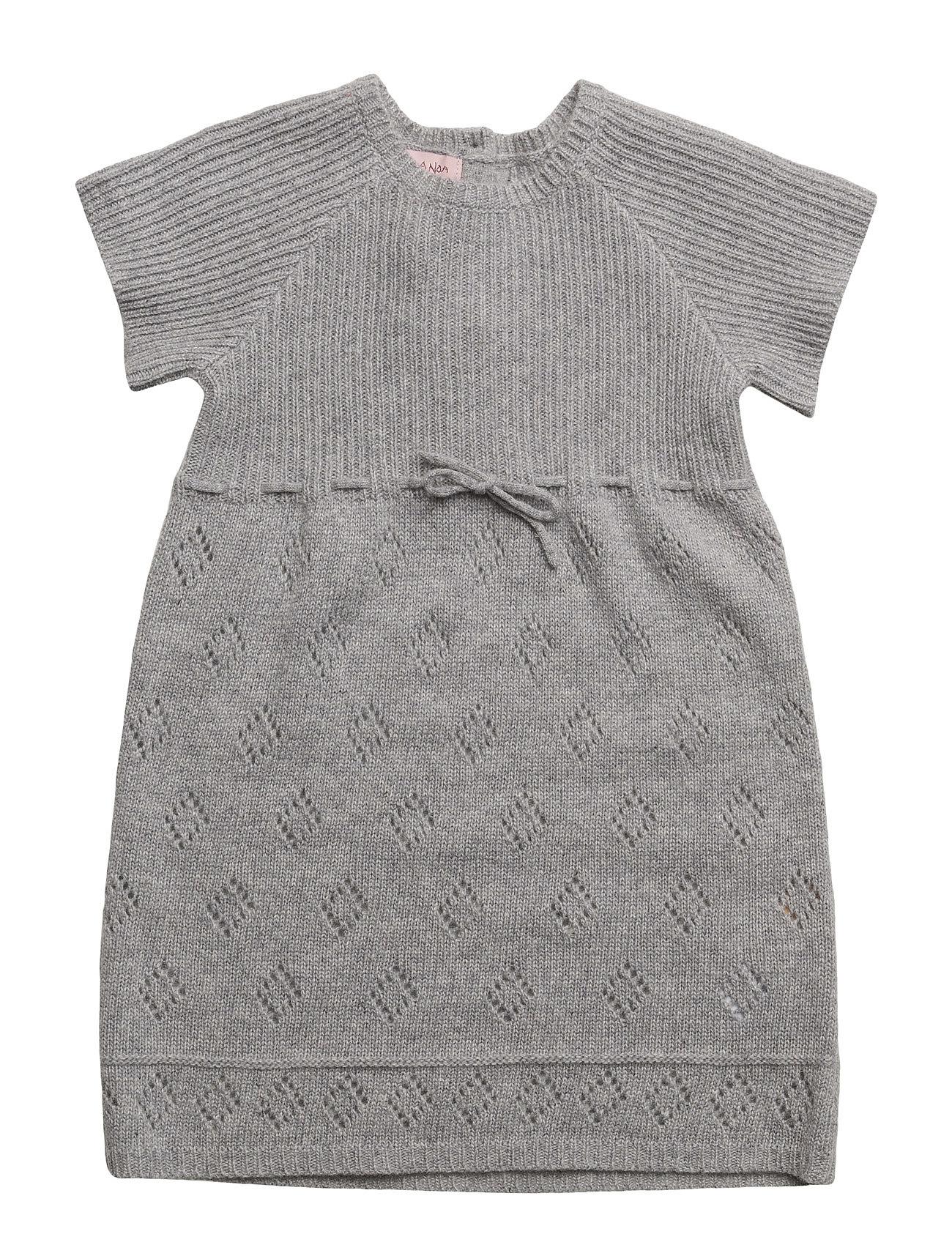 Dress Short Sleeve Noa Noa Miniature Kjoler til Børn i Grey Melange