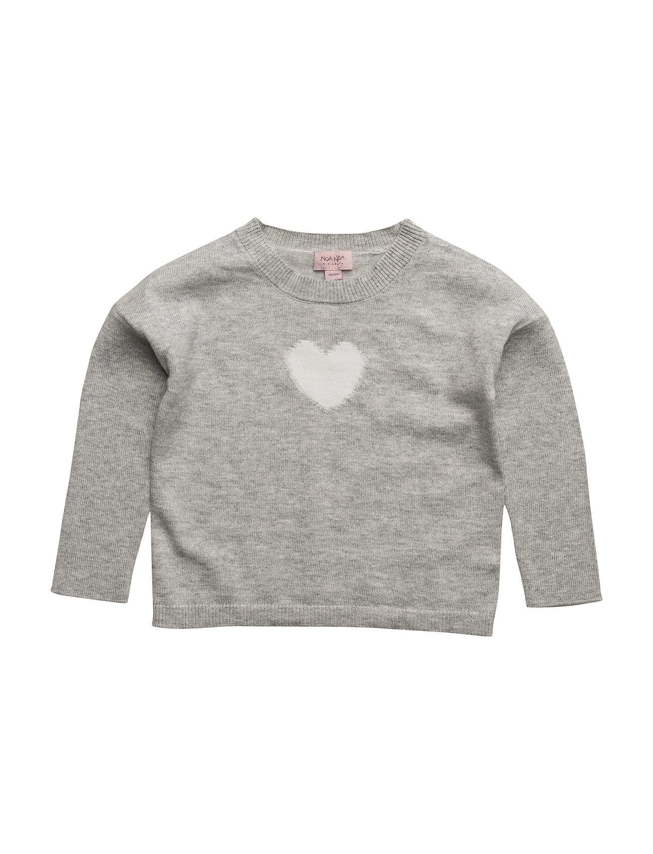 Pullover Noa Noa Miniature  til Børn i Grey Melange