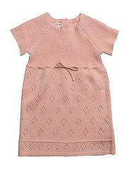 Dress short sleeve - EVENING SAND