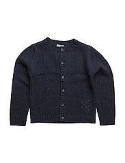 Cardigan - DRESS BLUE