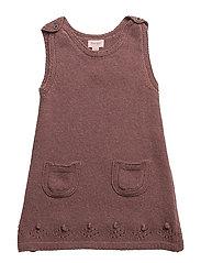 Dress sleeveless - ROSE TAUPE