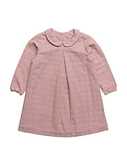 Dress long sleeve - PALE MAUVE