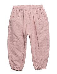 Trousers - PALE MAUVE