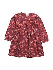 Dress long sleeve - TIBETAN RED