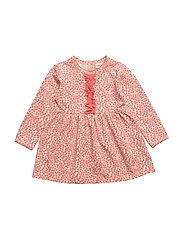 Dress long sleeve - SUGAR CORAL