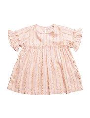 Dress short sleeve - VANILLA