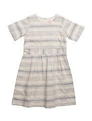 Dress sleeveless - CHALK