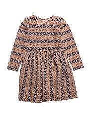 Dress long sleeve - EVENING SAND
