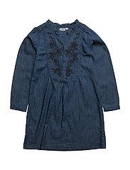 Dress long sleeve - DENIM DARK BLUE
