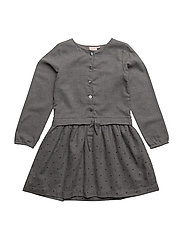 Dress long sleeve - GREY MELANGE