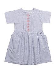 Dress short sleeve - VINTAGE INDIGO