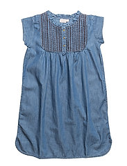Dress short sleeve - DENIM BLUE